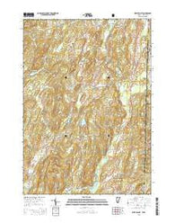 West Pawlet Vermont Current topographic map, 1:24000 scale, 7.5 X 7.5 Minute, Year 2015