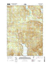 Westmore Vermont Current topographic map, 1:24000 scale, 7.5 X 7.5 Minute, Year 2015