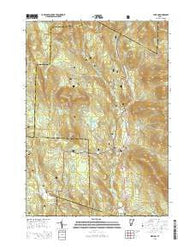 Weston Vermont Current topographic map, 1:24000 scale, 7.5 X 7.5 Minute, Year 2015