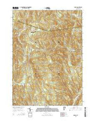 Windham Vermont Current topographic map, 1:24000 scale, 7.5 X 7.5 Minute, Year 2015
