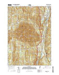 Windsor Vermont Current topographic map, 1:24000 scale, 7.5 X 7.5 Minute, Year 2015
