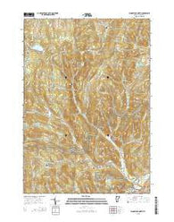 Woodstock North Vermont Current topographic map, 1:24000 scale, 7.5 X 7.5 Minute, Year 2015