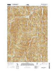 Woodstock South Vermont Current topographic map, 1:24000 scale, 7.5 X 7.5 Minute, Year 2015