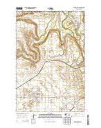 Airway Heights Washington Current topographic map, 1:24000 scale, 7.5 X 7.5 Minute, Year 2014 from Washington Map Store
