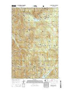 Aladdin Mountain Washington Current topographic map, 1:24000 scale, 7.5 X 7.5 Minute, Year 2014 from Washington Map Store