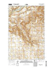 Alameda Flat Washington Current topographic map, 1:24000 scale, 7.5 X 7.5 Minute, Year 2014 from Washington Maps Store