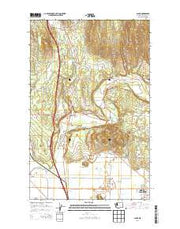 Alger Washington Current topographic map, 1:24000 scale, 7.5 X 7.5 Minute, Year 2014 from Washington Maps Store