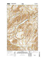 Amber Washington Current topographic map, 1:24000 scale, 7.5 X 7.5 Minute, Year 2014 from Washington Maps Store