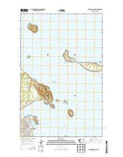Anacortes North Washington Current topographic map, 1:24000 scale, 7.5 X 7.5 Minute, Year 2014 from Washington Maps Store