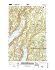 Belfair Washington Current topographic map, 1:24000 scale, 7.5 X 7.5 Minute, Year 2014 from Washington Maps Store