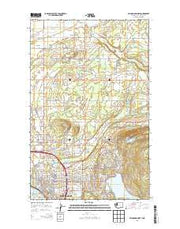 Bellingham North Washington Current topographic map, 1:24000 scale, 7.5 X 7.5 Minute, Year 2014 from Washington Maps Store