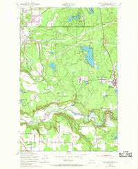 Black Diamond Washington Historical topographic map, 1:24000 scale, 7.5 X 7.5 Minute, Year 1949