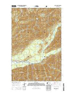 Bunch Lake Washington Current topographic map, 1:24000 scale, 7.5 X 7.5 Minute, Year 2014 from Washington Map Store