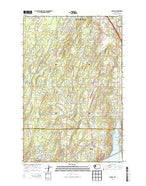 Burley Washington Current topographic map, 1:24000 scale, 7.5 X 7.5 Minute, Year 2014 from Washington Map Store