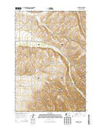 Buroker Washington Current topographic map, 1:24000 scale, 7.5 X 7.5 Minute, Year 2014 from Washington Map Store