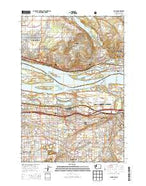 Camas Washington Current topographic map, 1:24000 scale, 7.5 X 7.5 Minute, Year 2013 from Washington Map Store