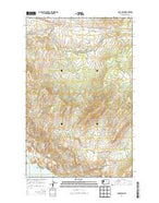 Camp Seven Washington Current topographic map, 1:24000 scale, 7.5 X 7.5 Minute, Year 2014 from Washington Map Store