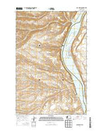 Cape Horn SE Washington Current topographic map, 1:24000 scale, 7.5 X 7.5 Minute, Year 2014 from Washington Map Store