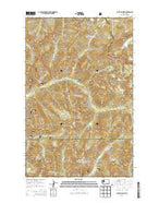 Captain Point Washington Current topographic map, 1:24000 scale, 7.5 X 7.5 Minute, Year 2014 from Washington Map Store