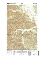 Cedarville Washington Current topographic map, 1:24000 scale, 7.5 X 7.5 Minute, Year 2014 from Washington Map Store