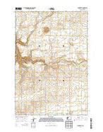 Centerville Washington Current topographic map, 1:24000 scale, 7.5 X 7.5 Minute, Year 2013 from Washington Map Store