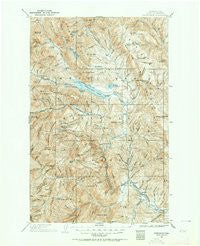 Chiwaukum Washington Historical topographic map, 1:125000 scale, 30 X 30 Minute, Year 1901