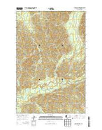 Christmas Creek Washington Current topographic map, 1:24000 scale, 7.5 X 7.5 Minute, Year 2014 from Washington Map Store