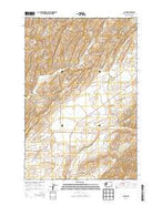 Clyde Washington Current topographic map, 1:24000 scale, 7.5 X 7.5 Minute, Year 2013 from Washington Map Store