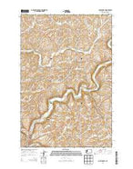 Colfax North Washington Current topographic map, 1:24000 scale, 7.5 X 7.5 Minute, Year 2013 from Washington Map Store