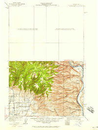 Colockum Pass Washington Historical topographic map, 1:125000 scale, 30 X 30 Minute, Year 1920