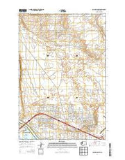 Columbia Point Washington Current topographic map, 1:24000 scale, 7.5 X 7.5 Minute, Year 2014 from Washington Maps Store