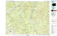 Colville Washington Historical topographic map, 1:100000 scale, 30 X 60 Minute, Year 1984