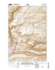 Connell Washington Current topographic map, 1:24000 scale, 7.5 X 7.5 Minute, Year 2014 from Washington Maps Store