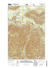 Cowlitz Falls Washington Current topographic map, 1:24000 scale, 7.5 X 7.5 Minute, Year 2014 from Washington Maps Store