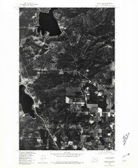 Deer Lake Washington Historical topographic map, 1:24000 scale, 7.5 X 7.5 Minute, Year 1978