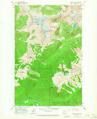 Downey Mtn Washington Historical topographic map, 1:24000 scale, 7.5 X 7.5 Minute, Year 1963