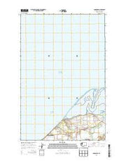 Dungeness Washington Current topographic map, 1:24000 scale, 7.5 X 7.5 Minute, Year 2014 from Washington Maps Store