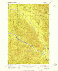 Eagle Gorge Washington Historical topographic map, 1:24000 scale, 7.5 X 7.5 Minute, Year 1953