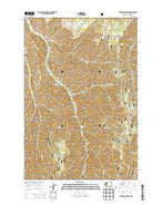 Eckler Mountain Washington Current topographic map, 1:24000 scale, 7.5 X 7.5 Minute, Year 2014 from Washington Map Store