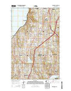 Edmonds East Washington Current topographic map, 1:24000 scale, 7.5 X 7.5 Minute, Year 2014 from Washington Map Store