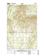 Elk Washington Current topographic map, 1:24000 scale, 7.5 X 7.5 Minute, Year 2014 from Washington Map Store