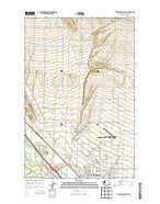 Ellensburg North Washington Current topographic map, 1:24000 scale, 7.5 X 7.5 Minute, Year 2014 from Washington Map Store