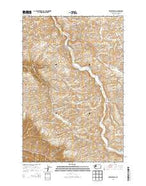 Ewartsville Washington Current topographic map, 1:24000 scale, 7.5 X 7.5 Minute, Year 2013 from Washington Map Store
