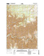 Fields Spring Washington Current topographic map, 1:24000 scale, 7.5 X 7.5 Minute, Year 2013 from Washington Map Store