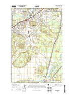 Fort Lewis Washington Current topographic map, 1:24000 scale, 7.5 X 7.5 Minute, Year 2014 from Washington Map Store