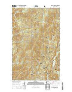 Gillette Mountain Washington Current topographic map, 1:24000 scale, 7.5 X 7.5 Minute, Year 2014 from Washington Map Store
