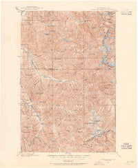 Glacier Peak Washington Historical topographic map, 1:125000 scale, 30 X 30 Minute, Year 1899