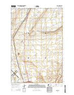 Glade Washington Current topographic map, 1:24000 scale, 7.5 X 7.5 Minute, Year 2014 from Washington Map Store
