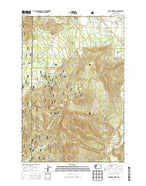 Guler Mountain Washington Current topographic map, 1:24000 scale, 7.5 X 7.5 Minute, Year 2014 from Washington Map Store