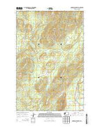 Gunderson Mountain Washington Current topographic map, 1:24000 scale, 7.5 X 7.5 Minute, Year 2014 from Washington Map Store